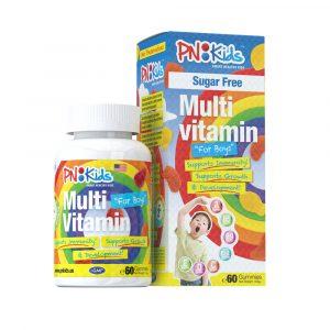 PNKids Multivitamins+Minerals Boys sugar free