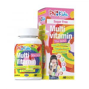 PNKids Multivitamins+Minerals Girls sugar free