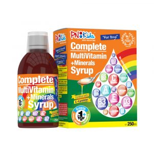 Syrup Multivitamin+Minerals for Boys