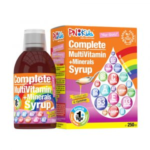 Syrup Multivitamin+Minerals for Girls